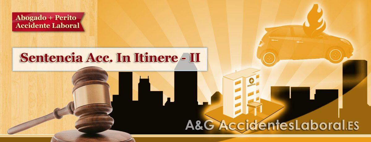 Accidente Laboral In Itinere al ir a Trabajar después de Asunto Personal – SENTENCIA II