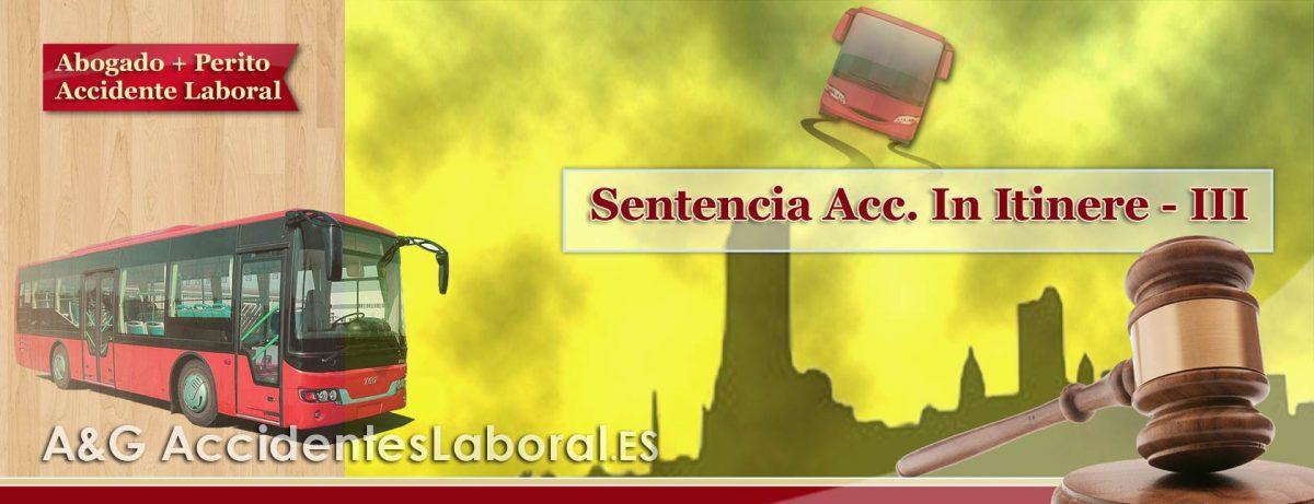 Accidente Laboral In Itinere al Salir del Trabajo Después de un Asunto Personal – SENTENCIA III