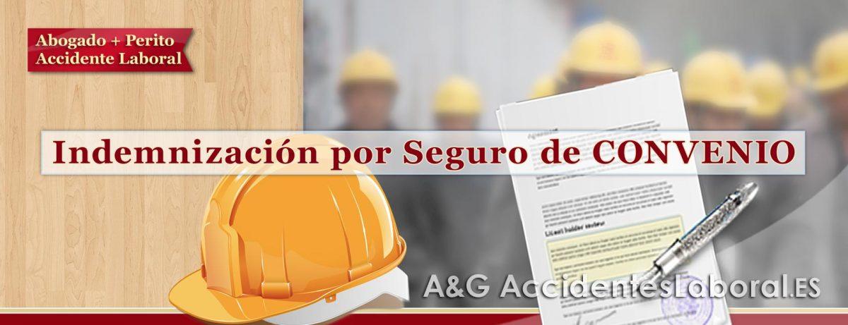 Indemnización por Accidente de Trabajo por el Seguro de CONVENIO